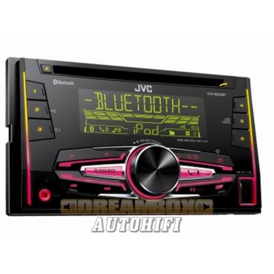 JVC KW-R920BT 2 DIN méretű autórádió Bluetooth kihangosítássál Ajándék 8Gb  pendrive