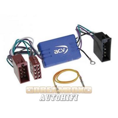 AUDI - SEAT - SKODA - VW active system adapter 10 pólusó ISO