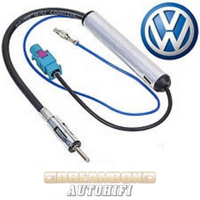 Fakra-DIN antenna adapter (Fantom táp)