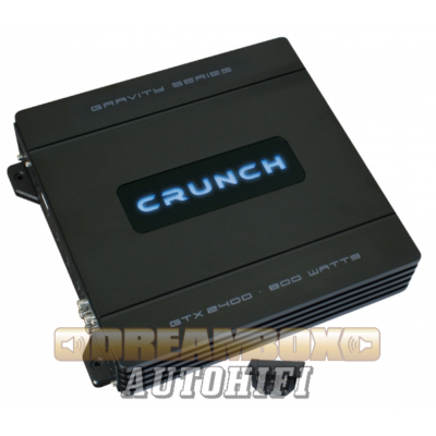 CRUNCH GTX-2400, 2 csatornás (2X220W,1X400W) erősítő