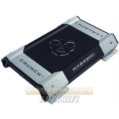 CRUNCH MXB-2300I, 2 csatornás (2X350W,1X700W) erősítő