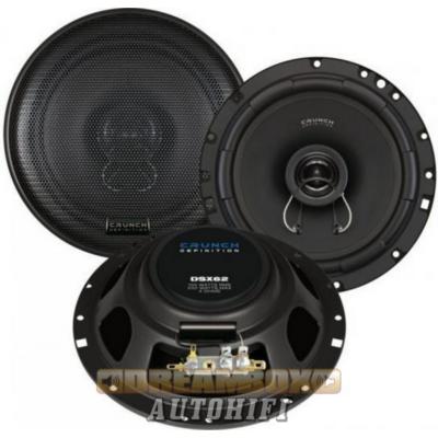 CRUNCH DSX62, 16,5 cm-es 2 utas (100/200W) koax hangszóró