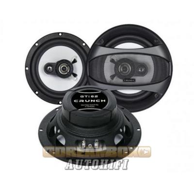 CRUNCH GTI-62, 16,5 cm-es 3 utas (90/180W) hangszóró pár