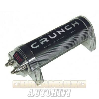 CRUNCH CR 1000CAP, puffer kondenzátor