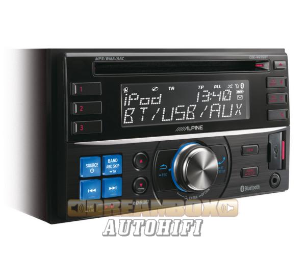 ALPINE CDE-W235BT autórádió bluetooth
