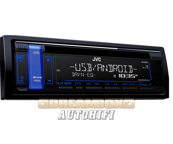 JVC KD-R481 Autórádió fejegység kék megvilágítással