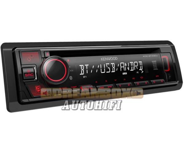 KDC-BT430U CD/USB/BT autórádió