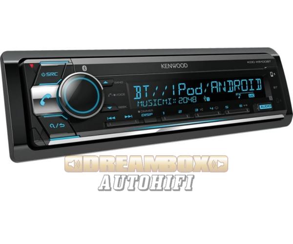 Kenwood KDC-X5100BT CD/USB/BT autórádió