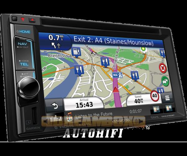 Kenwood DNX317BT 2din navigációs készülék