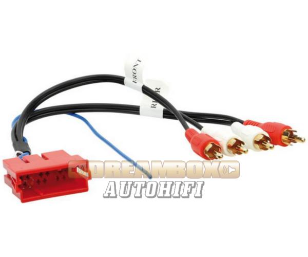 AUDI active system adapter BOSE hangrendszerhez