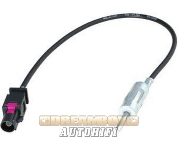 BMW 2001- Fakra (FKM fekete) DINadapter kábel