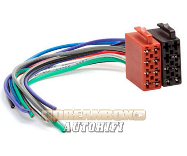 ISO autórádió csatlakozó (5 pólus) + hangszórókábel (8 pólus) 552072