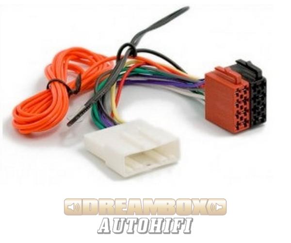 Nissan - ISO autórádió csatlakozó kábel