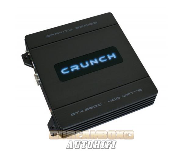 CRUNCH GTX-2200, 2 csatornás (2X60W,1X120W) erősítő