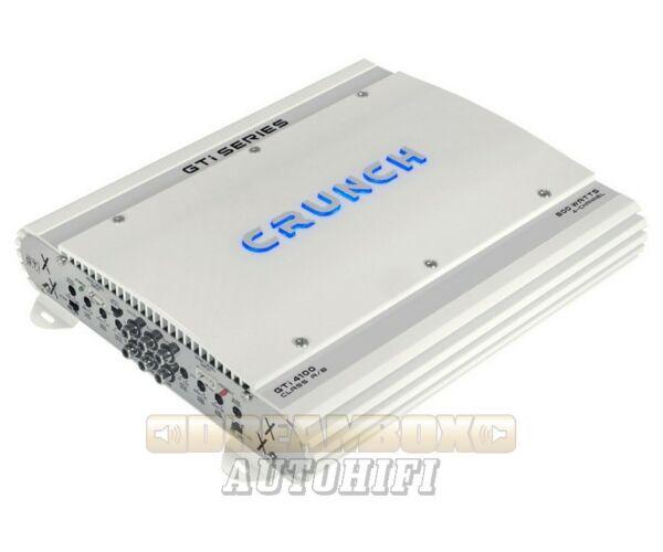 CRUNCH GTI-4100, 4 csatornás (4X120W,2X200W) erősítő