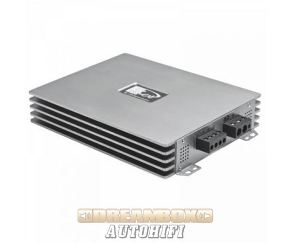 Kicx QS 1.350 digitális mono autohifi erősítő mélynyomókhoz 1 x 1600W max. teljesítmény