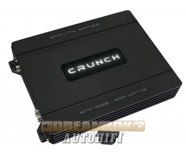 CRUNCH GTX-4600, 4 csatornás (4X160W,2X300W) erősítő