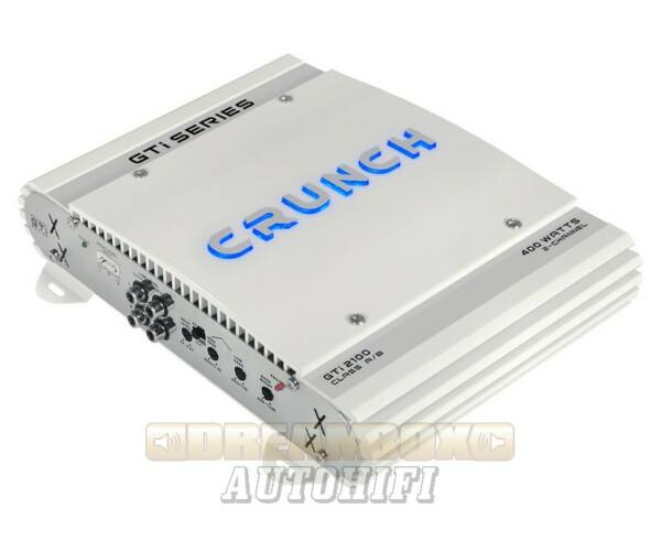 CRUNCH GTI-2100, 2 csatornás (2X120W,1X200W) erősítő