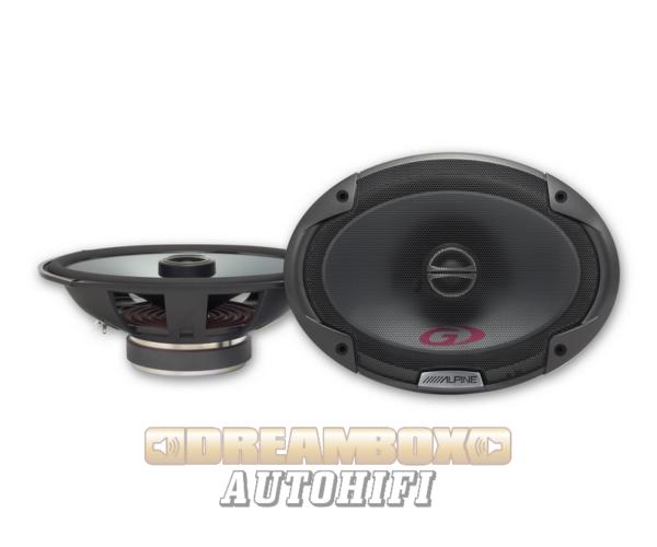 Alpine SPG-69C2 autóhifi ovál hangszóró