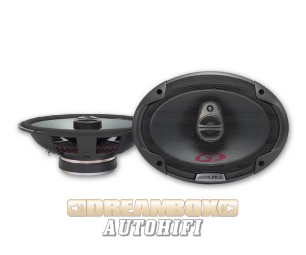 Alpine SPG-69C3 autóhifi ovál hangszóró
