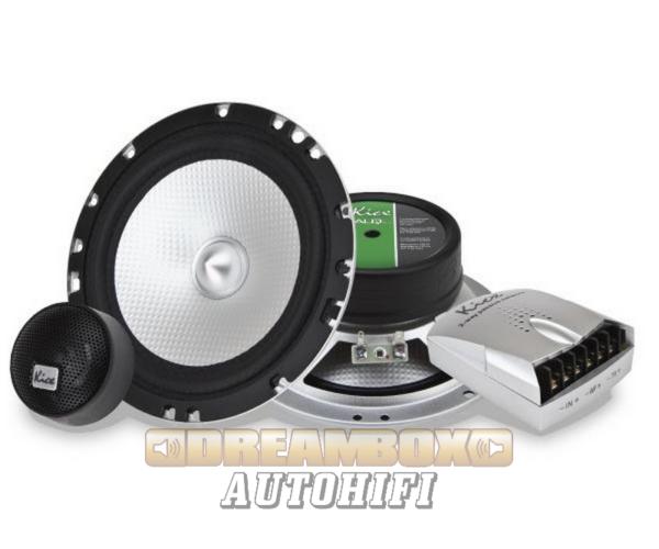 Kicx ALQ 6.2 16,5 cm-es komponens autóhifi szett 220W max.