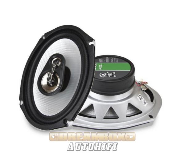 Kicx ALQ 693 16x23 cm-es ovál autóhifi hangszórópár 240W max.