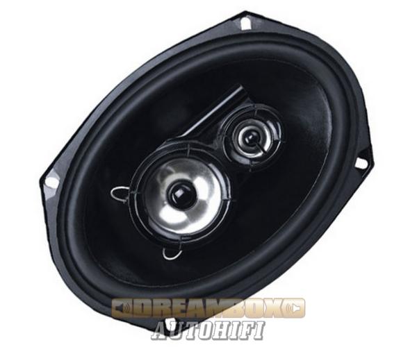 Kicx QS 693 16x23 cm-es 3 utas ovál autóhifi hangszórópár 200W max.