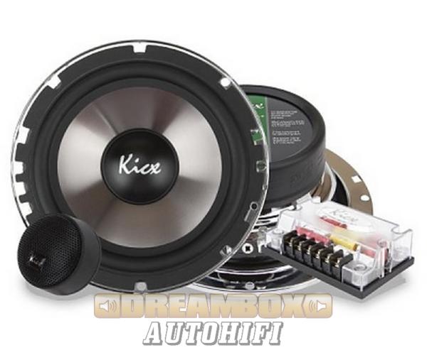 Kicx ICQ-6.2 16,5 cm-es komponens autóhifi szett 250W max