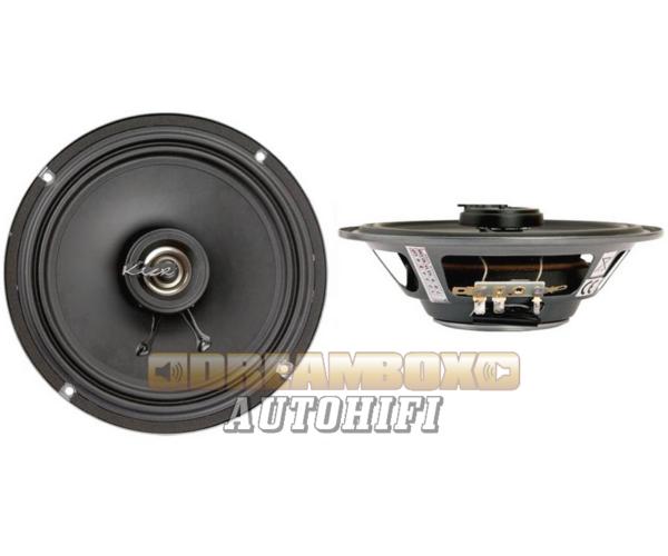 Kicx SL 165 extra vékony 16,5 cm-es 2 utas autóhifi hangszórópár 100W max.