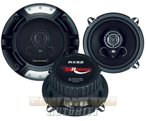 RENEGADE RX-52, 2 utas 13 cm-es koax hangszóró
