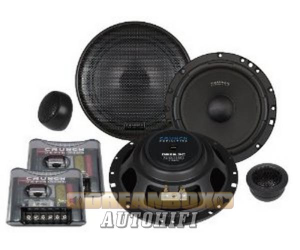 CRUNCH DSX 6.2C 16,5 cm-es 2 utas (100/200W) hangszóró