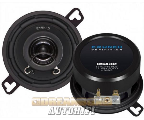 CRUNCH DSX32, Koax hangszóró