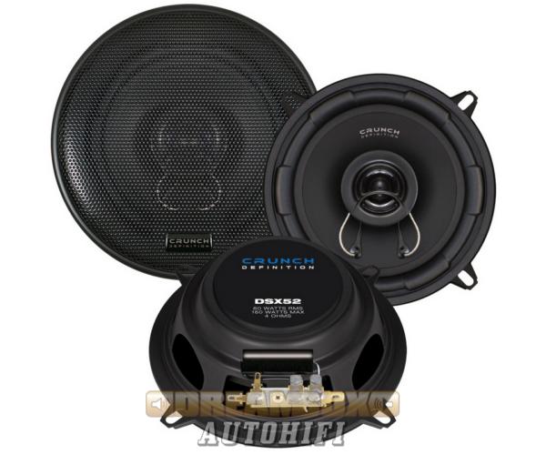 CRUNCH DSX52, 13 cm-es 2 utas (80/160W) koax hangszóró