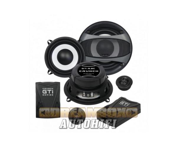 CRUNCH GTI-5.2C, 13 cm-es 2 utas (80/160W) hangszóró szett