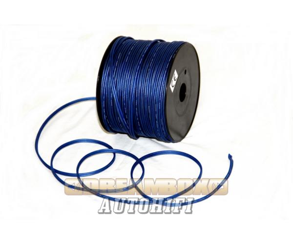 DLD hangszóró vezeték 2x1,3mm transparent kék