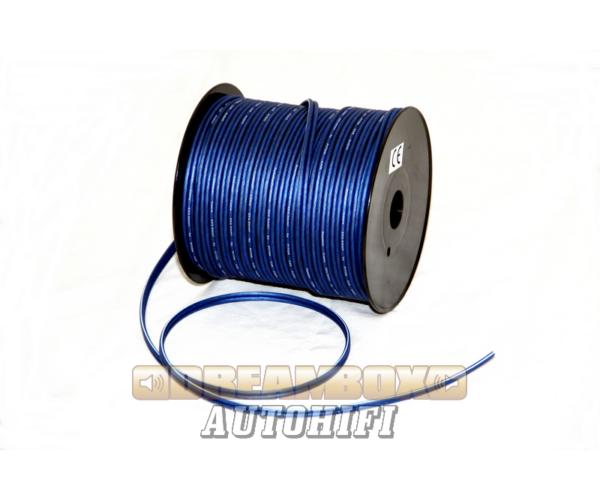 DLD hangszóró vezeték 2x2.5mm transparent kék