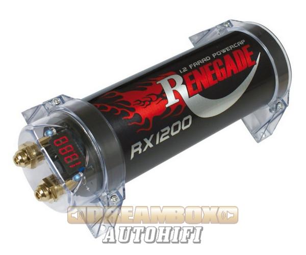 RENEGADE RX 1200, puffer kondenzátor