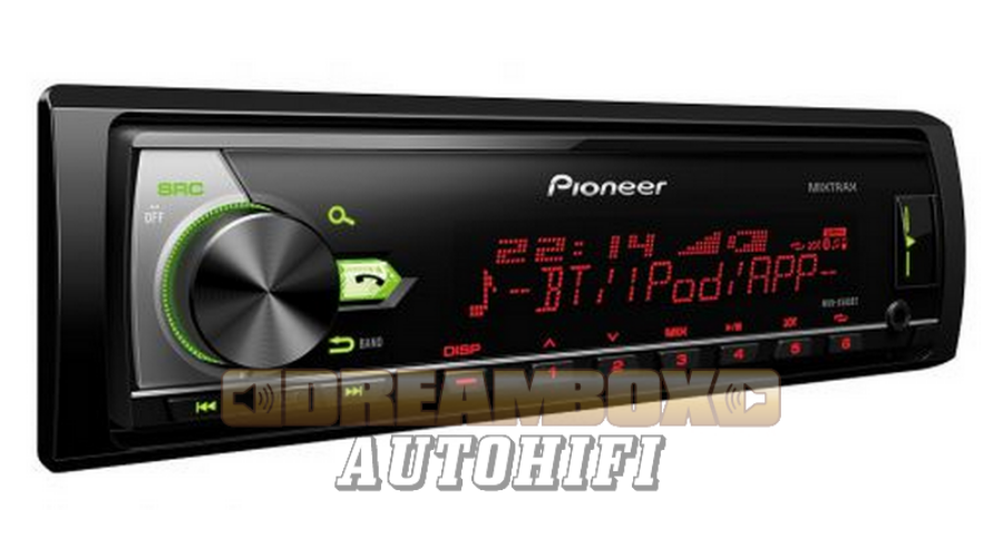 pioneer mvh x580bt aut r di usb bluetooth 1 din fejegys g. Black Bedroom Furniture Sets. Home Design Ideas