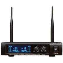 LS-670 UHF kézi mikrofon szett, 2 db mikrofonnal