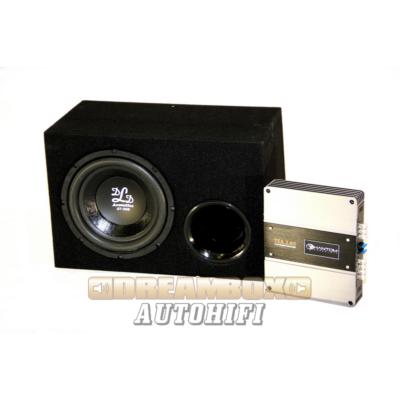 DLD Acoustics Csomag dld st 250 sub + 35l-es reflex láda + phantom tsa 2.65