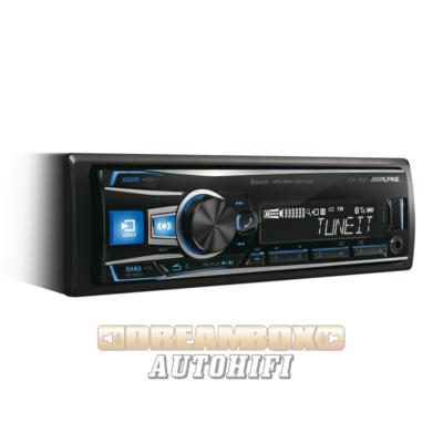 ALPINE UTE-92BT USB autórádió FLAC, MP3, WMA lejátszással