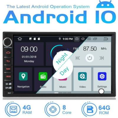 "7"" Android multimédia  2 din  navigáció"