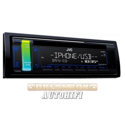 JVC KD-R681 Autórádió fejegység kék megvilágítással