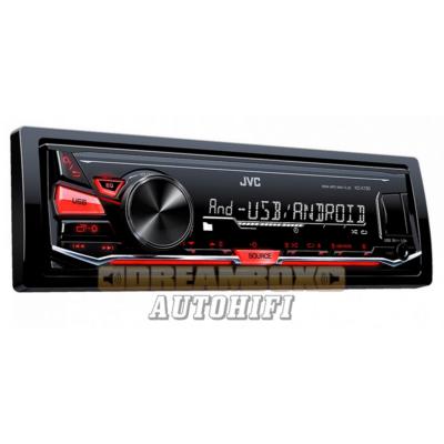 JVC KD-X141 Mechanika nélküli autórádió USB bemenettel