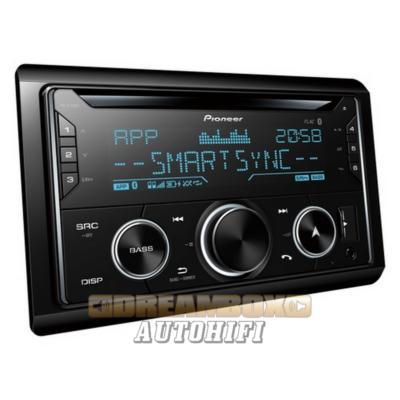 Pioneer FH-S720BT 2DIN Autórádió Bluetooth