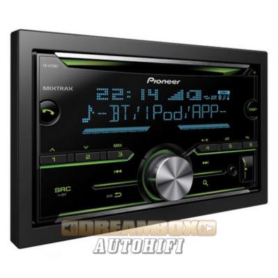 Pioneer FH-X730BT MP3/CD/WMA/WAV/BT fejegység