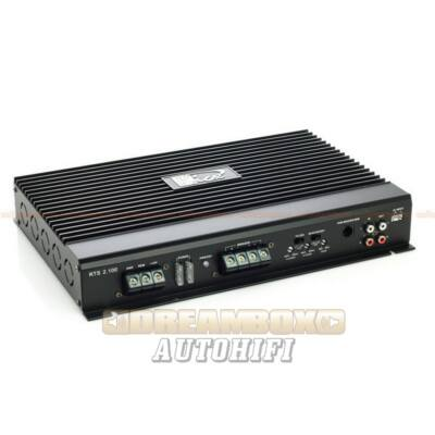 Kicx RTS-2.100 kétcsatornás erősítő