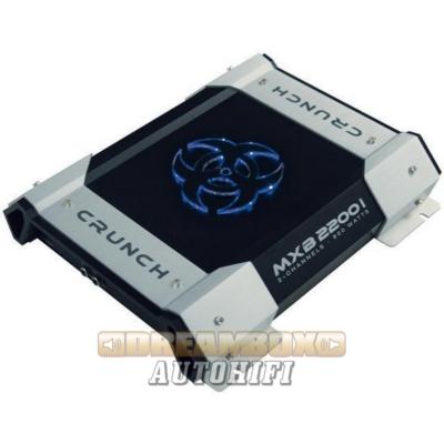 CRUNCH MXB-2200I, 2 csatornás (2X240W,1X400W) erősítő