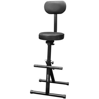 KB007 Lábtartós szék, háttámlával
