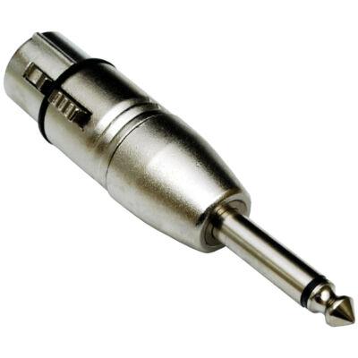 ADA-009 XLR(m) - 6,3 Jack(p) átalakító, monó